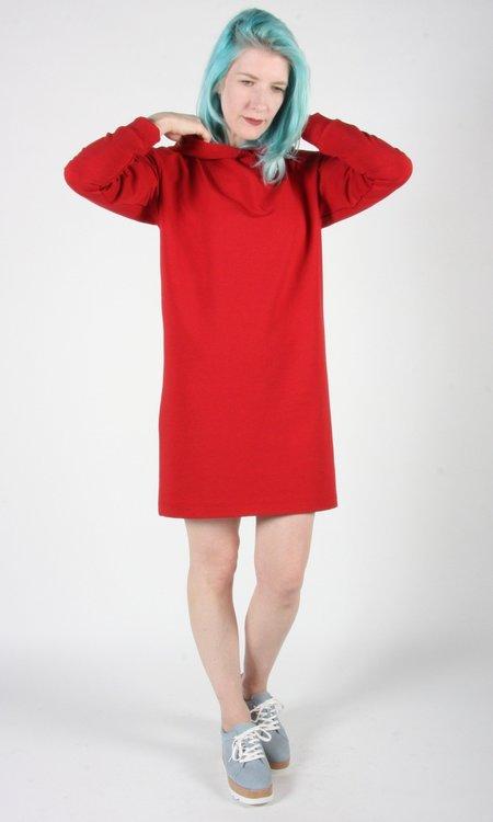 Birds of North America Surfbird Dress - Cardinal