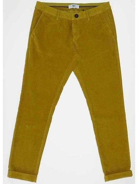 MKT STUDIO Monroe Velvet Crop Trouser - Honey