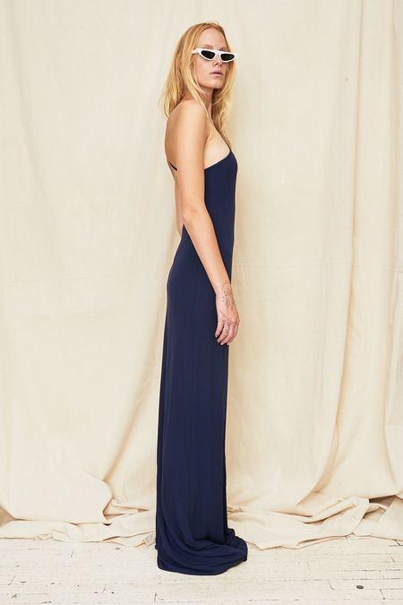 Assembly New York Single Strap Maxi Dress - Navy