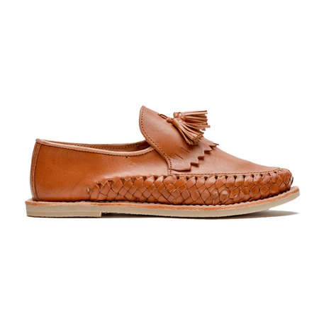 CANO Kahlo Tassel Loafer - Brown