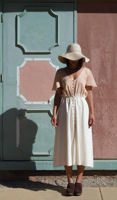 Petit Mioche bicolore dress