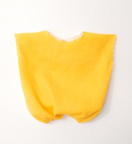 KIDS Petit Mioche reversible bicolore blouse - yellow/natural