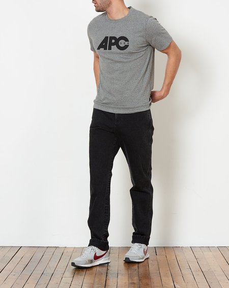 A.P.C. Johnny T-Shirt - Grey