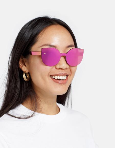 RetroSuperFuture Lucia Tuttolente Sunglasses - Pink