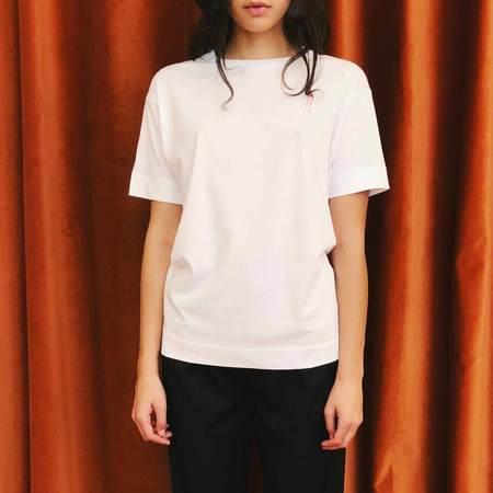 Alyx Granular Short Sleeve Tee - White