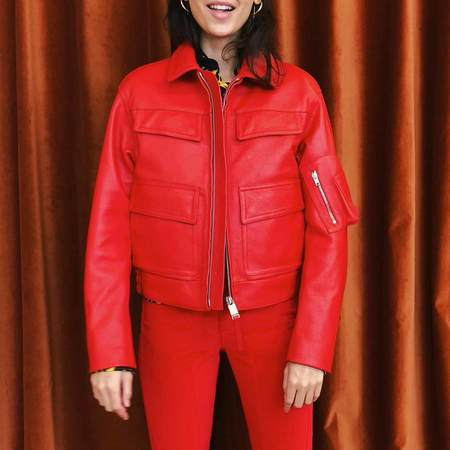 Alyx Police Jacket - Red