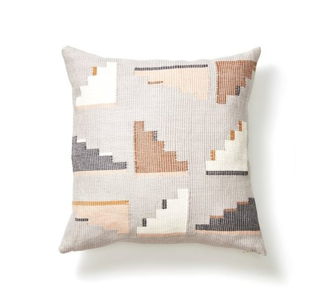 MINNA barragan pillow - light grey