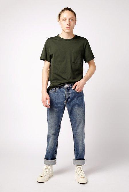 Unisex A.P.C. New Standard Jean - Washed Indigo