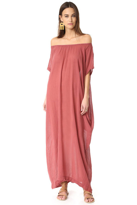 9 Seed Stone Caftan - Coppertone