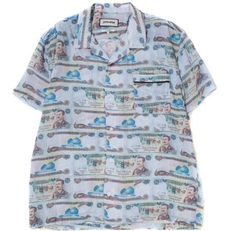Fucking Awesome Saddam Money Cabana Shirt - Money