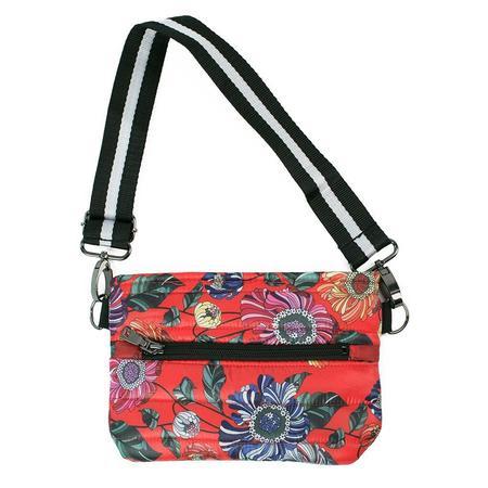 Think Royln Cross Body/Bum Bag - Rouge Bloom