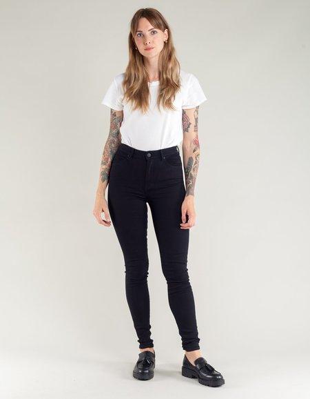 Neuw Marilyn Super High Skinny Jean - Blackest Silk