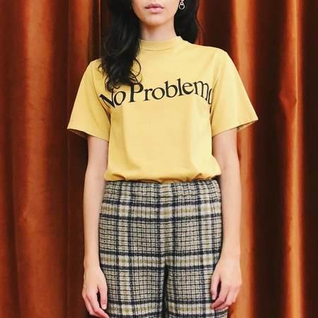 Aries No Problemo Tee - Yellow