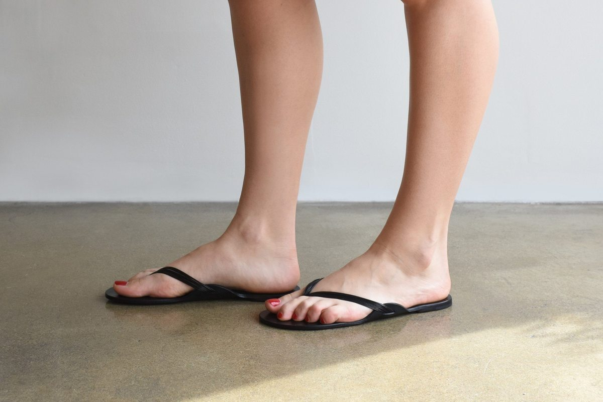 The Row Casablanca Sandal Black Garmentory
