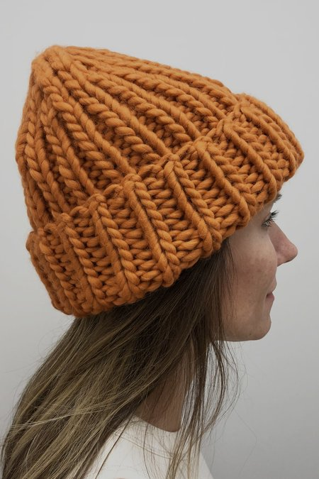 I love Mr Mittens The Ribble Hat - Burnt Orange
