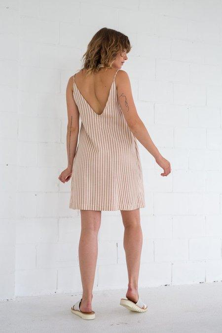 Lois Hazel Connect Dress - Brick