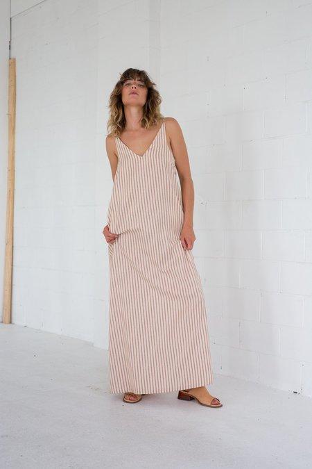 Lois Hazel Long Connect Dress - Stripe