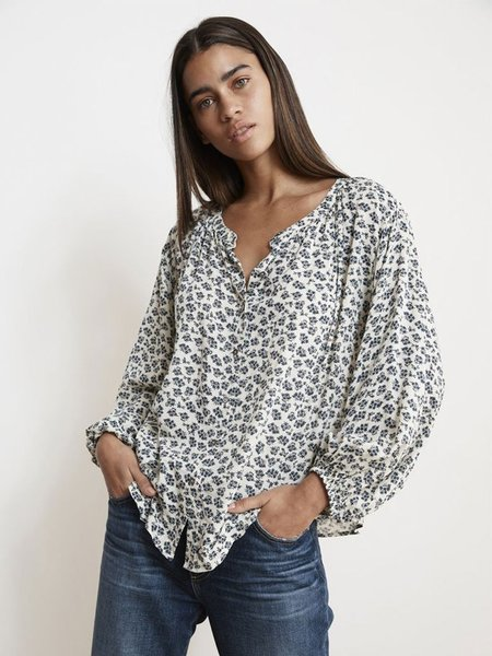 Velvet Kissan Printed Shirt - Swiss