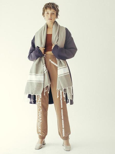 Bless Scheich Hammam Shawl - grey