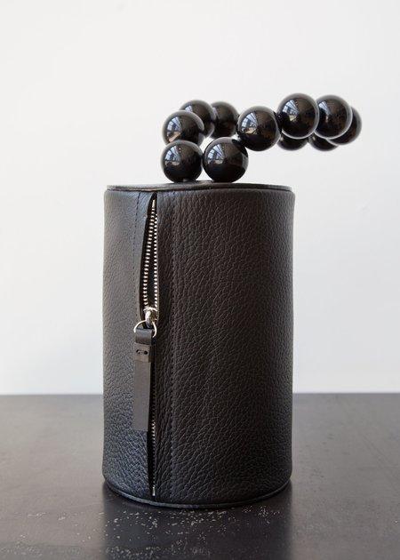 Building Block Cylinder Wristlet - Black