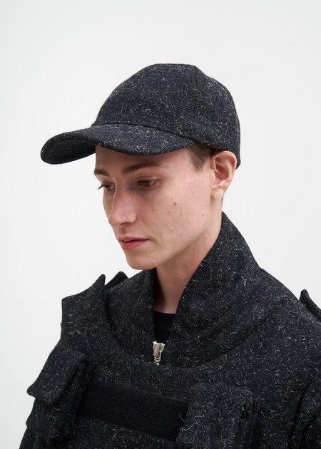 Matthew Miller Grey Melange Wool Cap