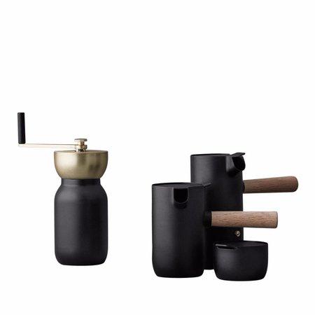 Stelton Collar Coffee Grinder - MATTE BLACK