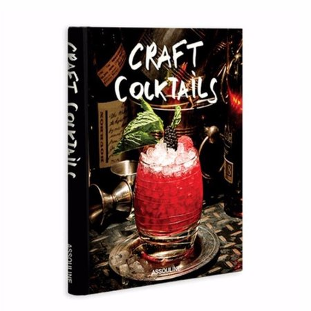 Assouline Craft Cocktails HARDCOVER BOOK