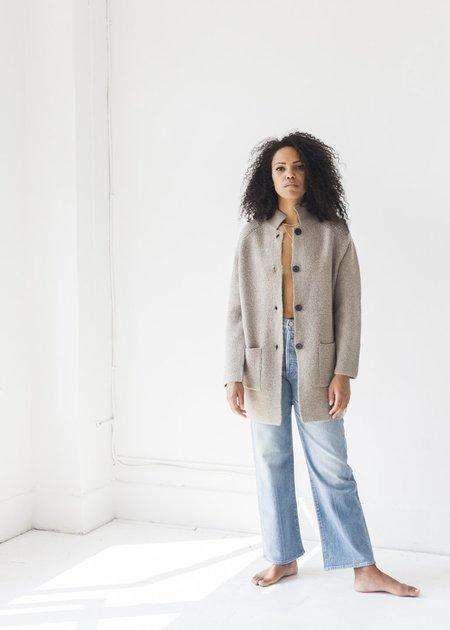 Line Knitwear Paige Top - Mink