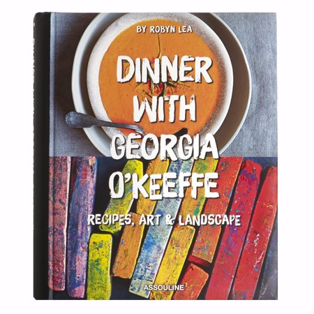 Assouline Dinner with Georgia O'Keefe Hardcover Book