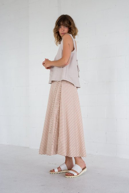 Lois Hazel Tie Circle Skirt - Stripe