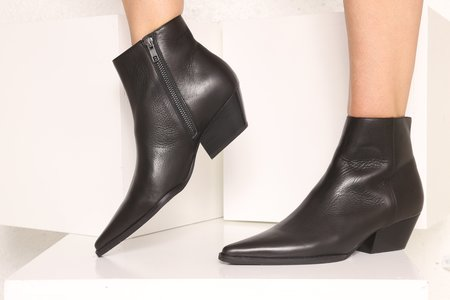 """Intentionally __________."" Animal Boot - Black"