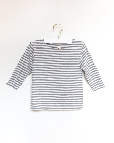 Kids Gray Label Tee - Stripe