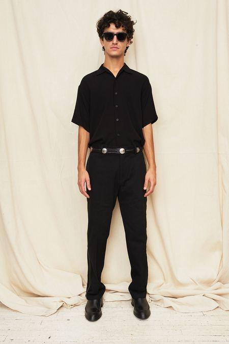 Assembly New York Black Camp Shirt - Black