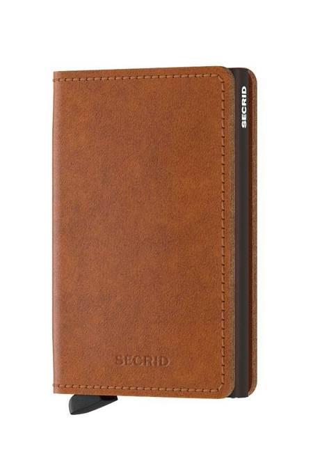 Unisex Secrid Slim Wallet - Original Cognac