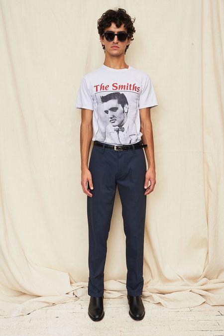 Assembly New York Cotton Slim Pant - Navy