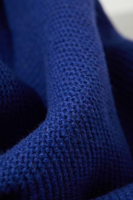 Lanius Merino Wool Scarf - Royal Blue