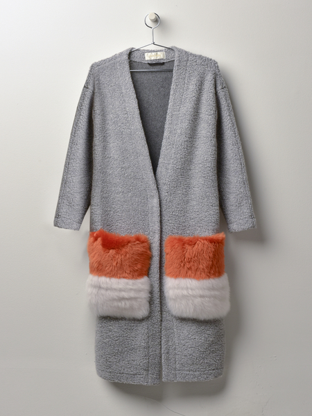 Anne Vest May Coat - Grey