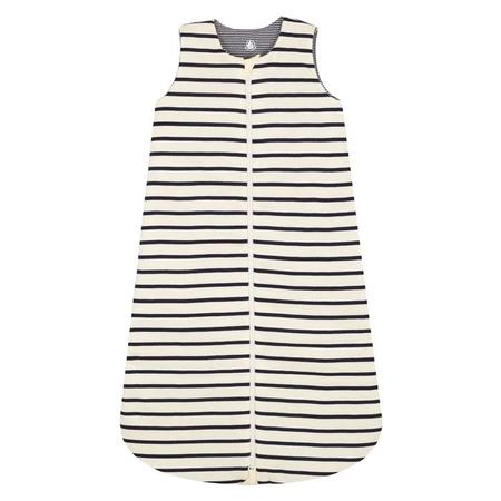 KIDS Petit Bateau Baby Sleepsac - Blue And White Stripes