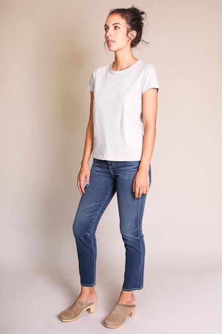 Umber & Ochre Jersey T Shirt - Burnt Grey