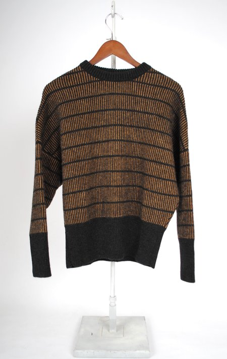 Masscob Jane Sweater - Camel/Black