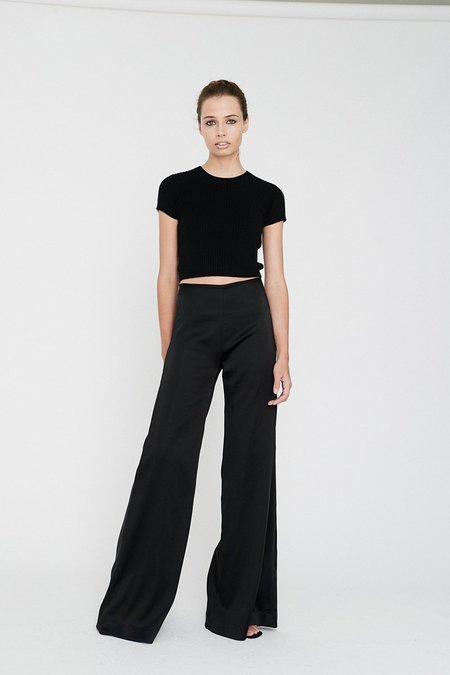 Georgia Alice Moss Pant - Black