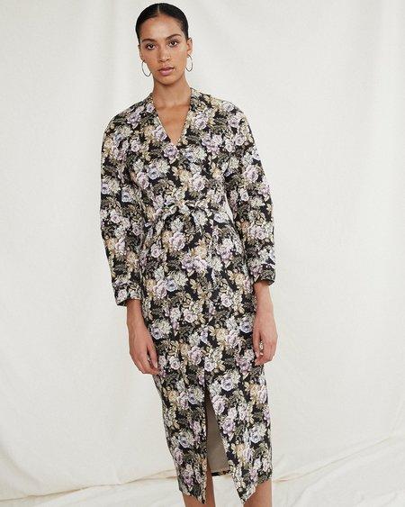 Nanushka Westie Wrap Dress - Multirose