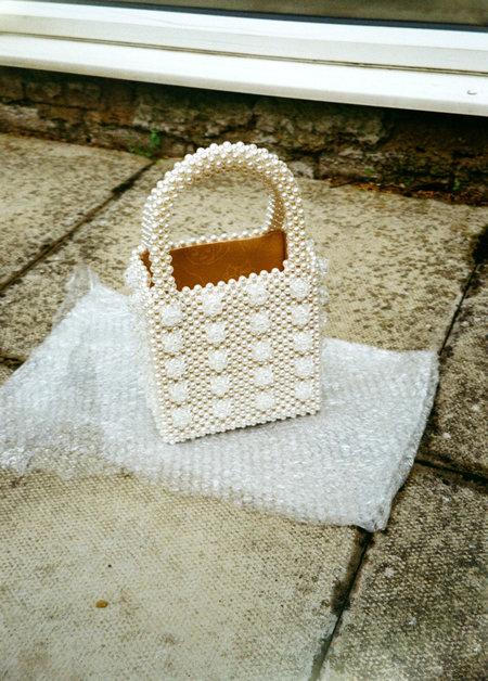 Shrimps Antonia Bag - Cream/Clear