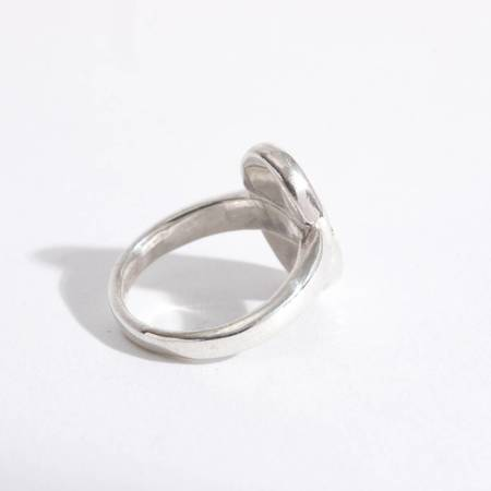 Open House Star Ring - Silver/Brass