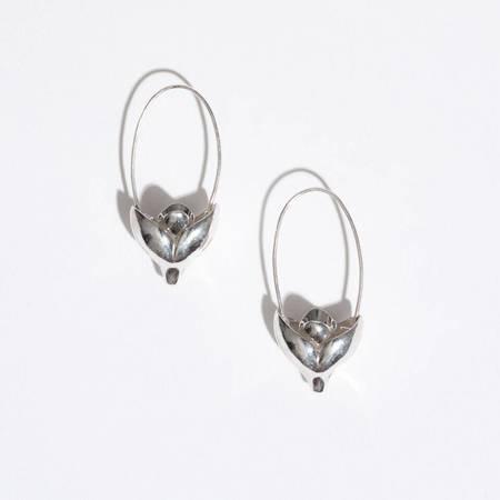 Pamela Love Lotus Earrings - STERLING SILVER