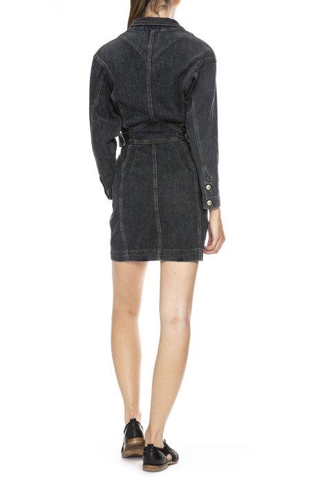 Jean Atelier Gia Wrap Dress - Stone