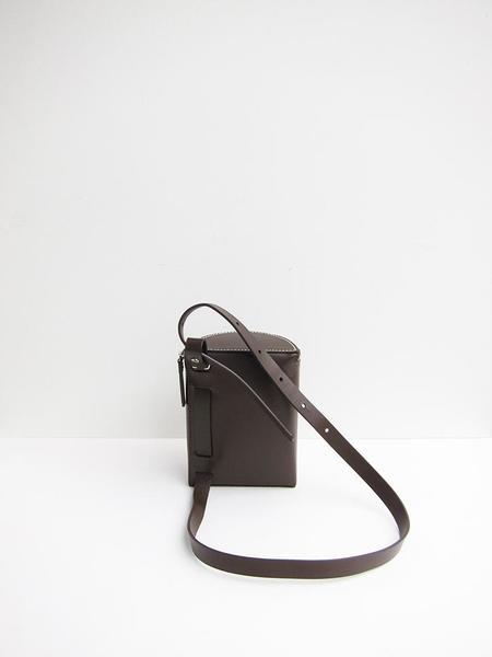 Building Block Belt Pack Bag - Dark Chocolate