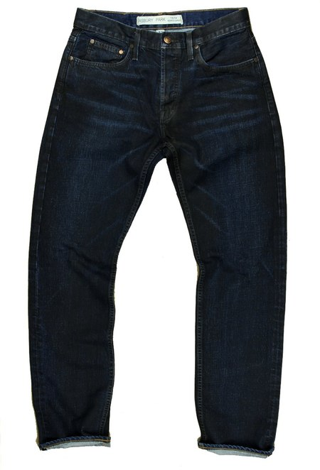 Asbury Park Denim 1877 Boardwalk Straight - Black/Blue