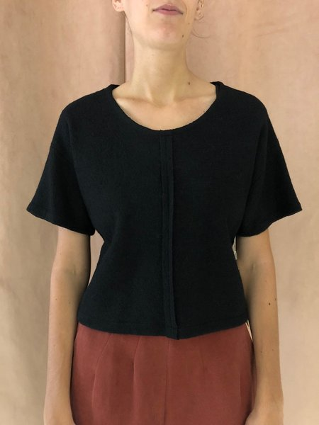 EVE GRAVEL WITH SHADOW TOP - BLACK