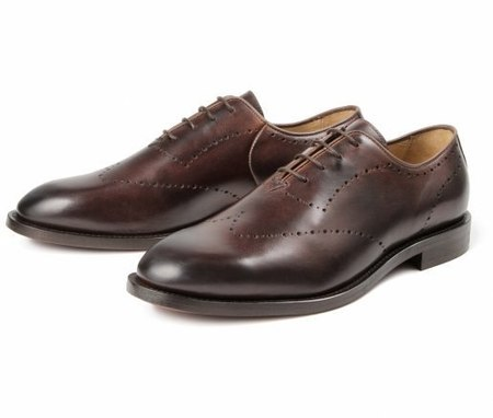 H by Hudson Twain Calf Oxford - BROWN